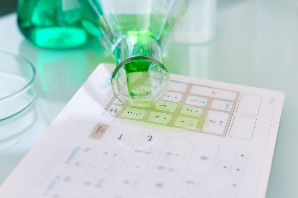Cleankeys® Glastastatur | Tastatur Krankenhaus
