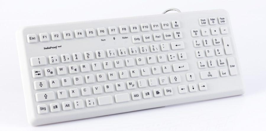 Silikontastatur mit Nummernblock
