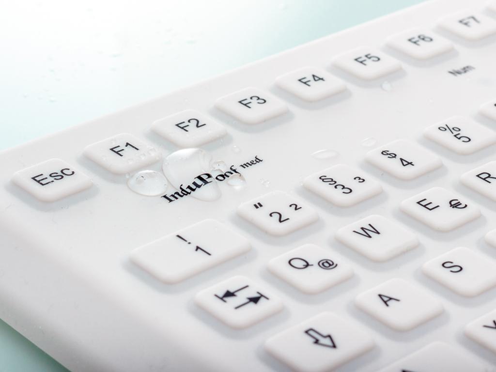 antimikrobielle Tastatur