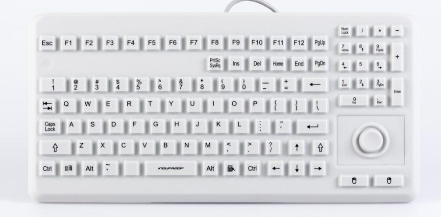 Silikontastatur mit Mousebutton