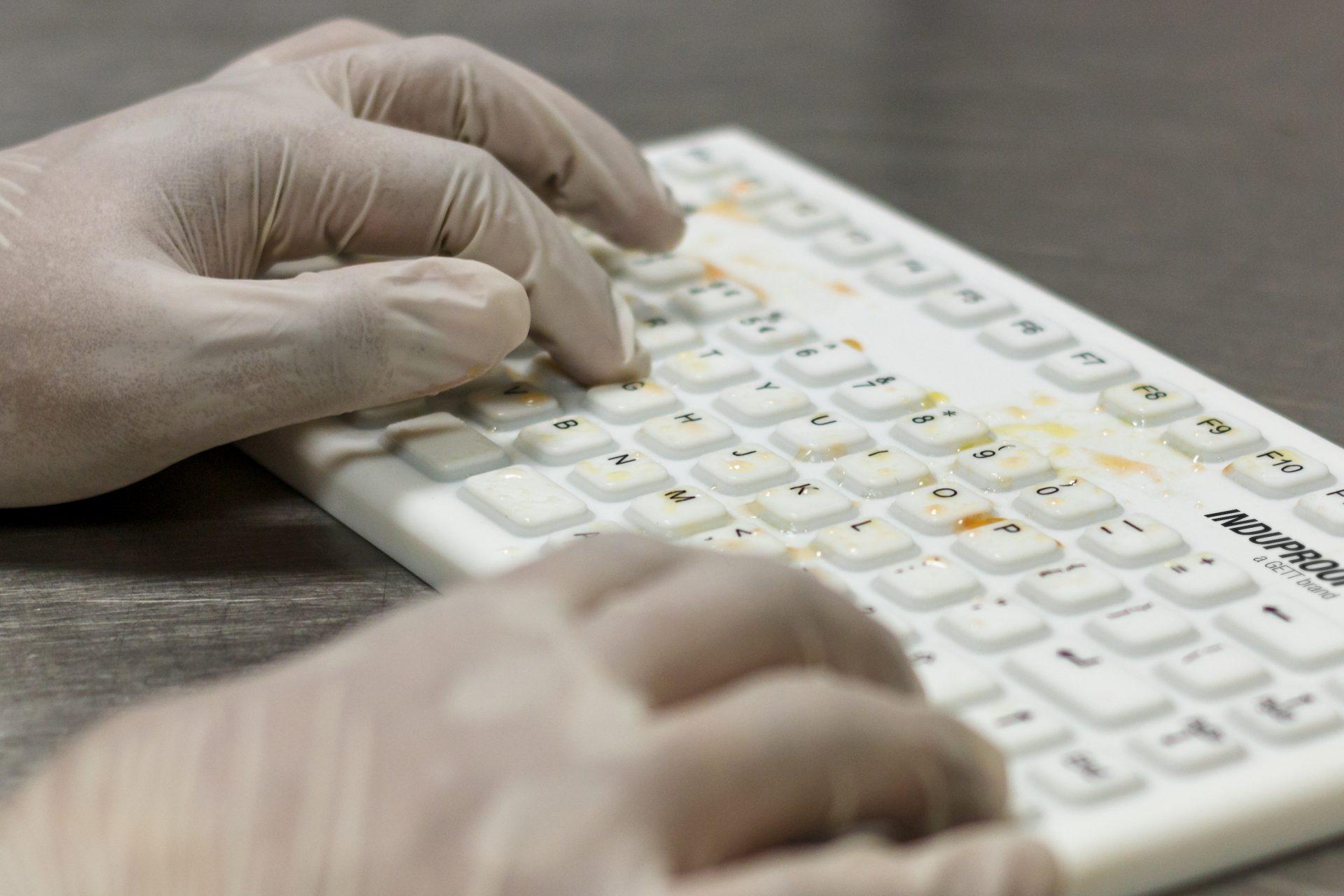 Wasserdichte Silikon Tastatur