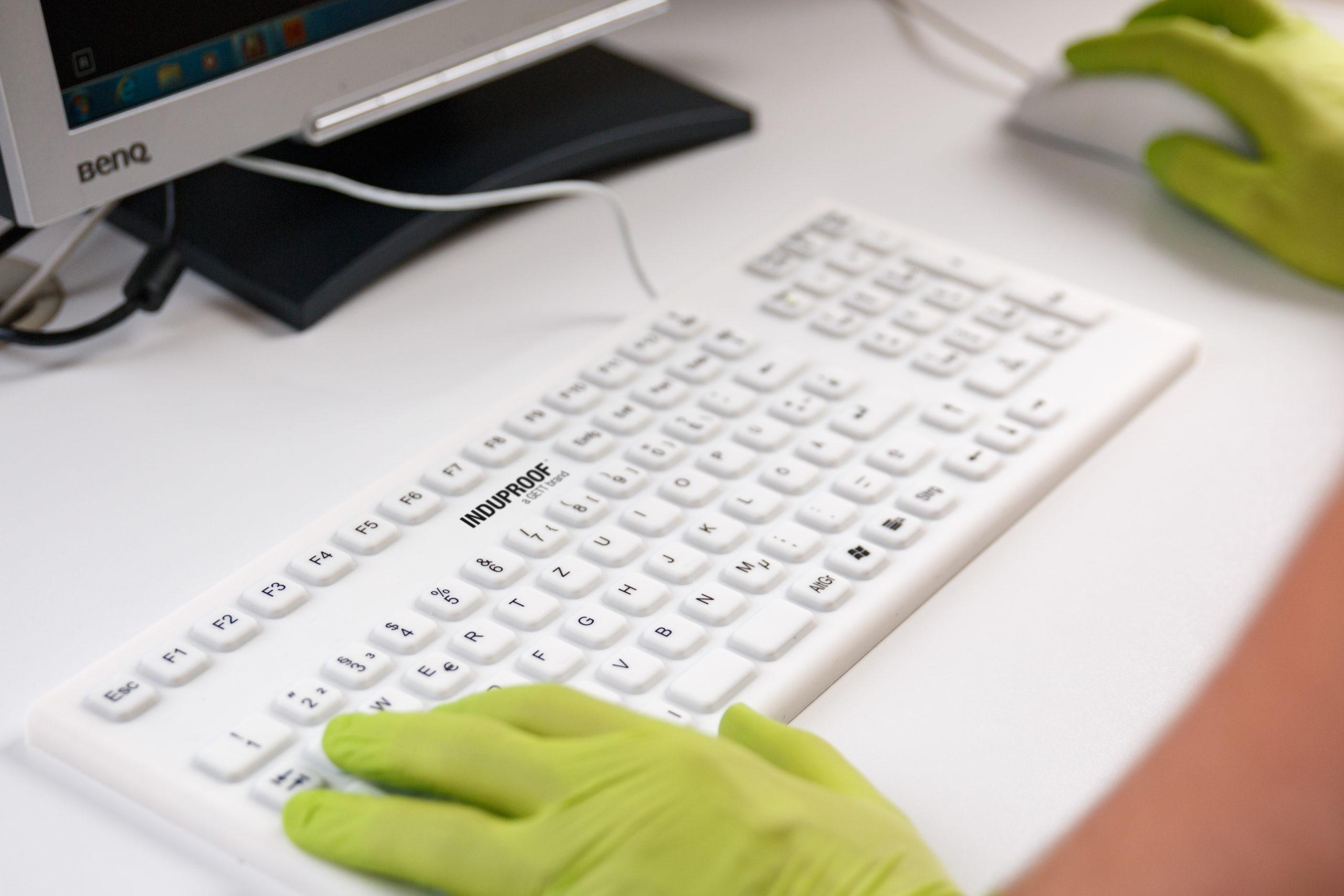 Medizinische Tastatur für maximale Hygiene