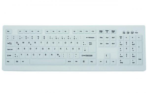 Wireless hygiene keyboard