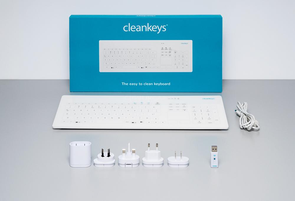 Cleankeys CK4W Tastatur Zubehör