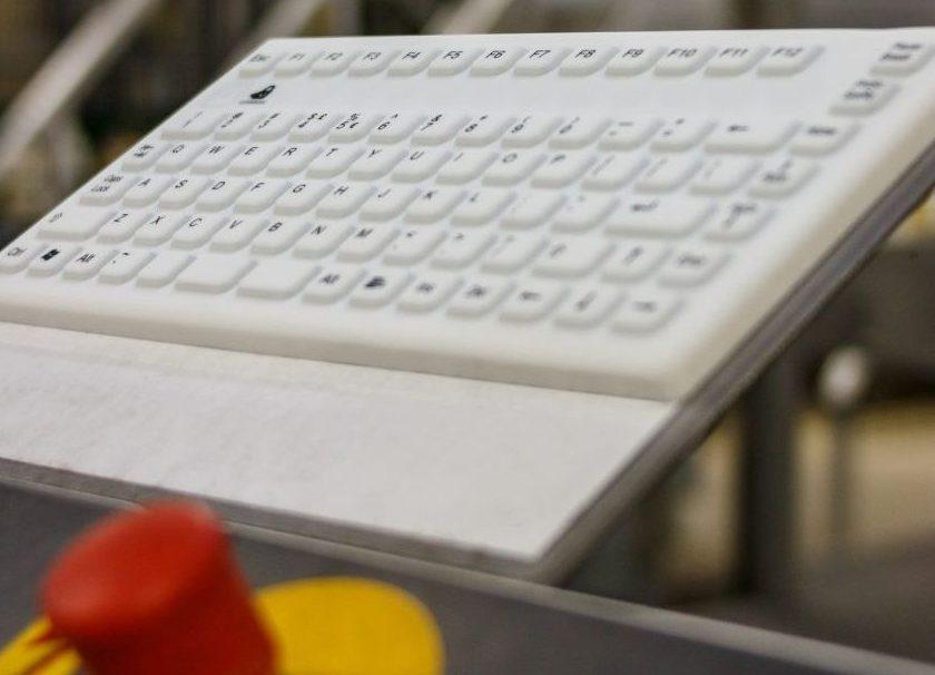 Silikon Tastatur für die Lebensmittelindustrie