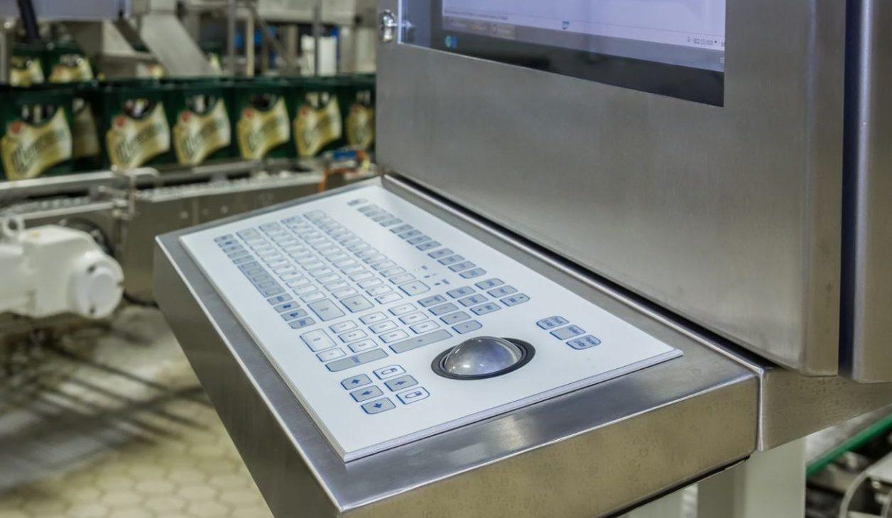 Tastatur für die Lebensmittelproduktion