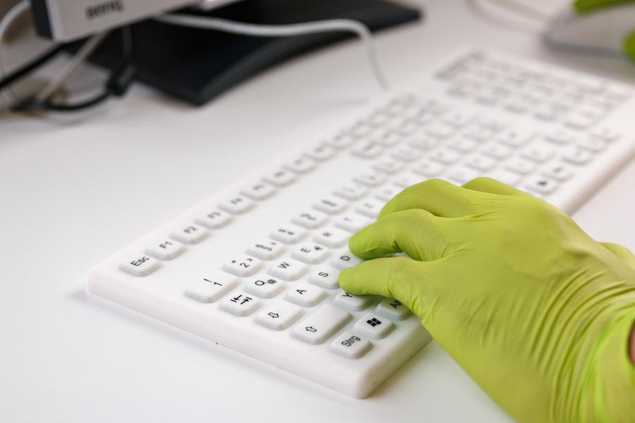 Tastatur aus Silikon